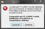 Error de aceleración hardware en virtual box al instalar WIN 8